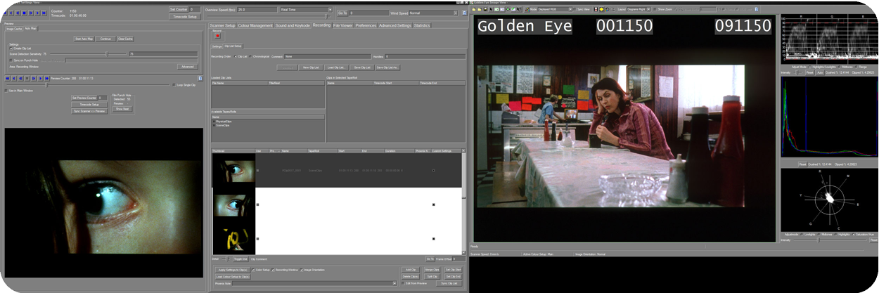 Golden Eye 4 Interface