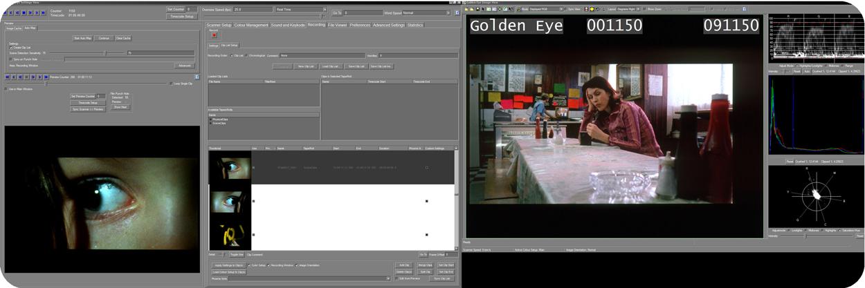 Golden Eye 4 Interface