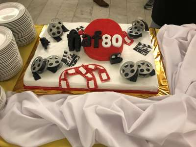 FIAF 80th Birthday Cake